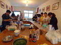 佳惠农产品批发大市场:趣味包饺子活动