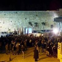 耶路撒冷圣殿山西墙●以色列士兵庆祝收复48周年