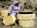 泄漏��急桶在危化品�\�、有毒物�|采集�Υ娴确矫娴��用