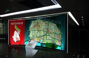 奉贤区行政中心形象墙设计