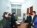 河南保监局调研组来驻马店市调研诉调对接工作