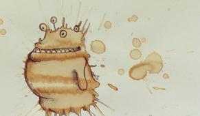 大甫傻创业网:爪爪趣图吧图片——咖啡怪兽