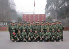 My company all staff to carry out military training for three days