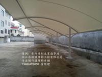 东阳计划生育指导站膜结构车棚
