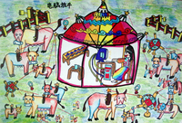 《电脑放牛》 陈锴然 男 9岁 导师:陶琳玲