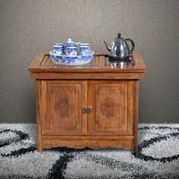 【原来生活】中式实木茶桌 非洲花梨木 客
