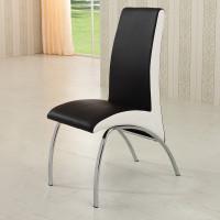 梅德比 创意简约时尚 现代小户型餐椅 黑
