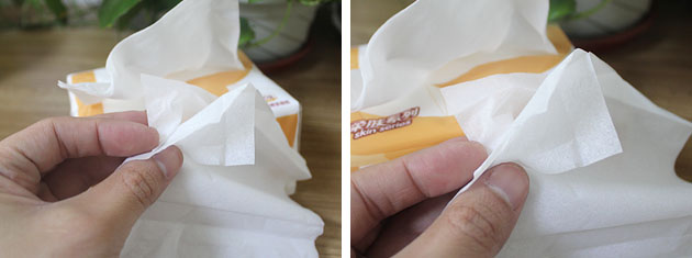 单纸巾3层实拍