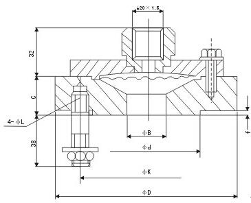 隔膜压力表-江苏得能仪器仪表有限公司