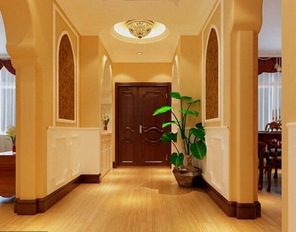 例如我们常见的入户门正对客厅