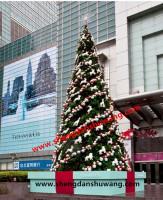 富达大型户外圣诞树