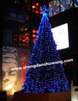 北京手工制作4至18米大型圣诞树工厂