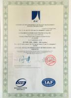 ISO9001�|量管理�w系�J�C英文