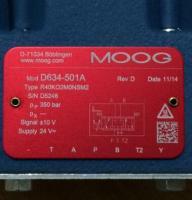 D634-501A R40KO2M0NSM2 Moog 现货供应