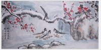 梅鹤迎春到瑞雪兆丰年