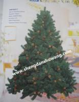 圣诞树生产厂家出口2-15米高的各种规格圣诞树